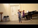 Учебный концерт 29 октября 2013 г. 1) К. М. Вебер. Хор охотников из оперы