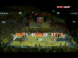 Galatasaray-CSKA maçı öncesindeki muhteşem tribün şovları.