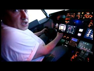 Domodedovo, Boeing 737-500 UTair take-off.