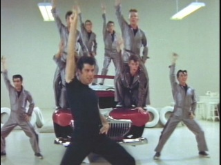John Travolta & Olivia Newton John - The Grease - Megamix.