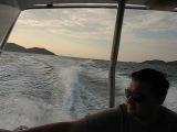 Едем с островов, очень страшно!!! Из-за этого так мало)))