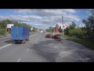 Авария с пьяным мудаком в Иваново | ДТП авария