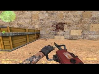 Обзор самого хуёвского сервера [Gameplay] - Zombie Plague [CSO]