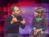 Роналдиньо и его маленький фанат - глухая Ванесса