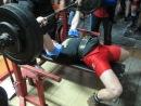 Андрій Гайдамаха — жим 135 кг