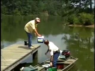 самый тупой рыбак в мире