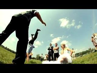 Креативная свадьба в Беларуси г.Брест Кирилл+Катя