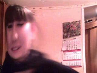 Наташа открыла для себя веб- камеру