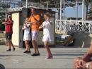 Танец аниматоров - ора ора. Египет, Хургада 2011. Titanic ResortAquapark