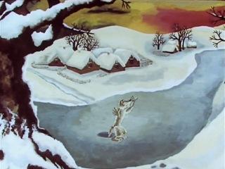 Волчище - серый хвостище.  СССР, Союзмультфильм. 1983 год