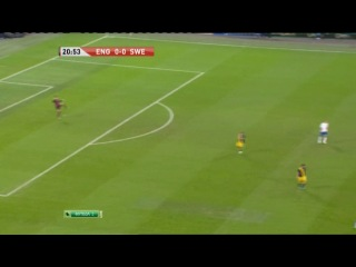 Товарищеский матч 2011 / Англия - Швеция / Футбол 2 / 1 тайм