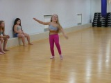 Belly dance - классная малышка))