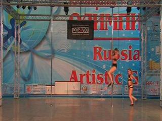 Юлия Ключникова и Анастасия Жигарева. 1-е место в категории Дуэты. ОРТО 2012