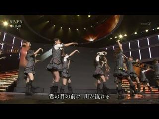AKB48 - RIVER (Shinsai Kara Ichinen Ashita he Concert 2012.03.10)