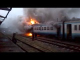 дизель Стрий - Івано-Франківськ.станція Болехів.