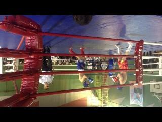 Александр Яковенков (Соревнования по Кик-Боксингу,красный угл)вес 61.1кг