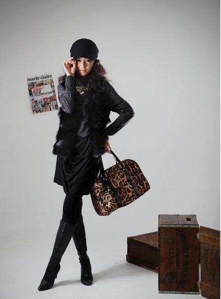 Модная сумка корейского стиля фото.