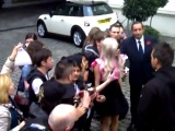 Meeting Lady GaGa in London
