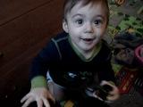 Валерик 10 месяцев. Первое слово)))