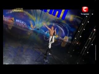 Роман Кронжко, силовая акробатика