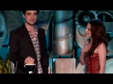 Kristen Stewart Robert Pattinson Win Best Kiss 2011 MTV Movie Awards.