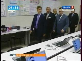 ТВ Россия 1 - Министр транспорта РФ в СГУПСе (эфир 31.08.2012)