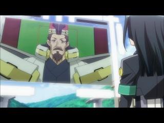 Горизонт посреди пустоты / Kyokai Senjo no Horizon 1 сезон 8 серия (Eladiel & JAM)