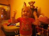 это моя сестренка Анюточка Степанова. Она такая душечка лапушка уси-пусичка! ну просто а ангел, а не ребенок!♥..