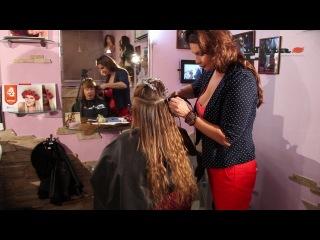 Наращивание волос от студии Nata Li