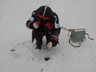 Рыбалка зимой ( щука 4 кг.)