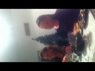 Поедание новогодних салфеток