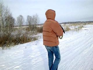 Саня Гришко и Сайга МК 03 223 кал. в Омске