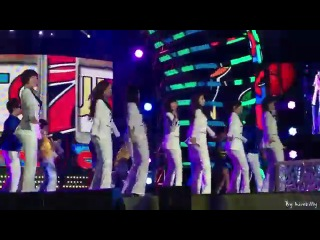 (FANCAM) [111231] 2011 MBC 가요대제전 티아라(T-ara) - Roly-Poly (with 이&