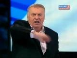 Жириновский - Sieg Heil! Жирик кидает зиги