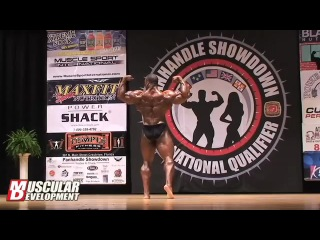 Cedric mcmillan guest posing at 2012 panhandle showdown