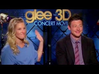 Glee 3D movie - the best of (cast interviews)