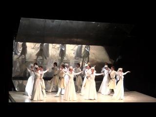 Сухишвили в мюзикле Кето и Котэ - Давлури