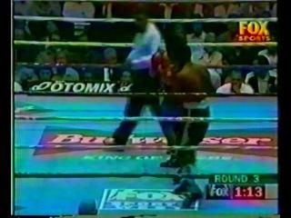 1997-07-14 Juаn Маnuеl Маrquеz vs Саtаlinо Весеrrа (WВО NАВО Fеаthеrwеight Тitlе)