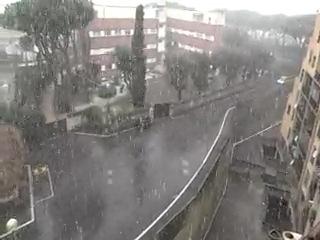 A Roma nevica!! Di nuovo!
