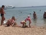 Sea Gull 4*, Хургада пляж