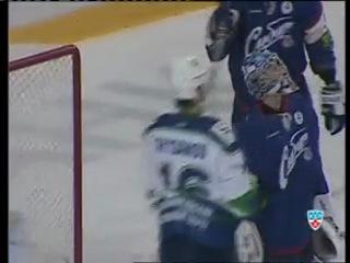 19-02-2012 Сибирь-Югра 0-1 (Обзор КХЛ-ТВ)