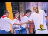 Виктор Кейру и Летающие баскетболисты из Перми. Минута славы на 1 канале. 16 октября 2011.