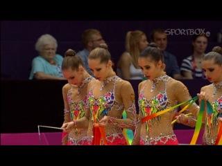 Россия  Гимнастика · Художественная гимнастика. Командное первенство  золото. Летние Олимпийские игры 2012 (London, 2012)