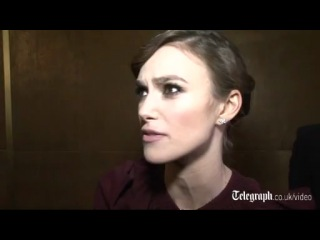 A Dangerous Method star Keira Knightley- British are 'obsessed with spanking'