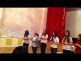 Танец фасилитаторов в Айсеке))) Клевая командная работа.