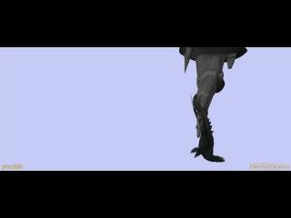 Незавершённая тестовая анимация полёта Беззубика