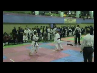 V Международный турнире по каратэ JKS г. Гусь-Хрустальный.Изотов Нестор VS ...