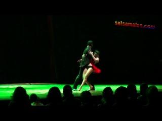 Neeraj & Olesya (India & Ukraine) Cha Cha Showdance @ Istanbul International Dance Festival 2011