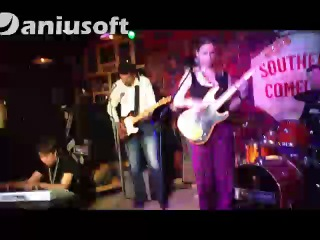 блюзовый джем в R'N'B Cafe Gary Moore Don't You Lie To Me I Get Evil