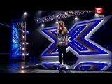 девочка на X-Factore спела песню Miley Curys The Climb